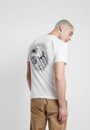 LOST AT SEA - T-shirt con stampa - marshmallow