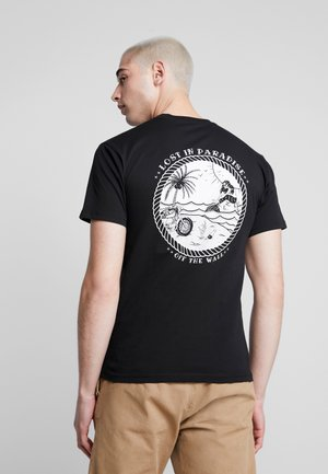 LOST AT SEA - T-shirt con stampa - black