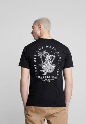 ISLAND CHULA - Print T-shirt - black