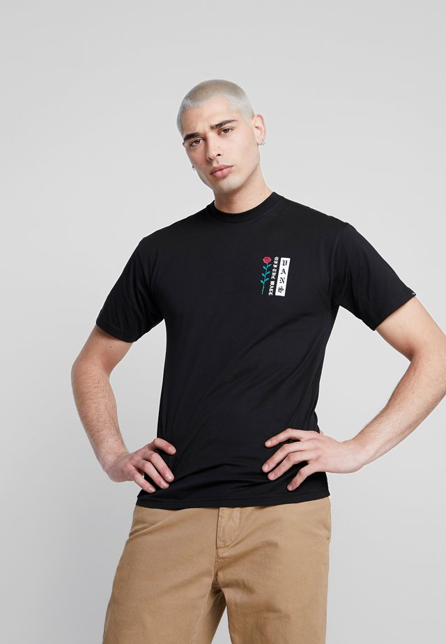 BE MINE FOREVER - Camiseta estampada - black