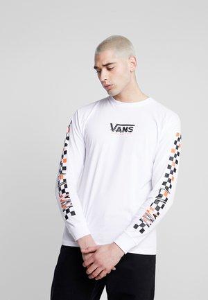 WARPED - Maglietta a manica lunga - white