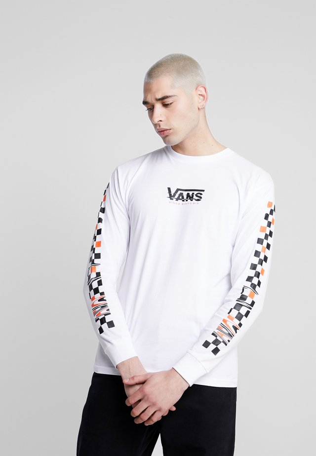 WARPED - Long sleeved top - white