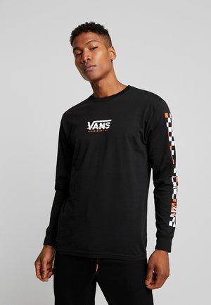 WARPED - Maglietta a manica lunga - black