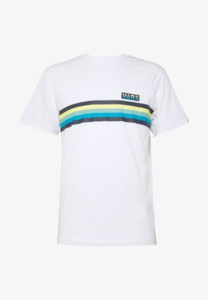 MULTI STRIPE - T-shirt con stampa - white