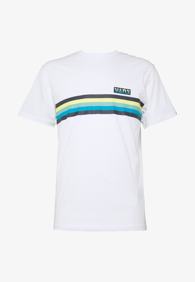 MULTI STRIPE - Camiseta estampada - white