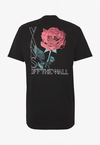 Vans - NIGHTSHADE  - T-shirt print - black - 1