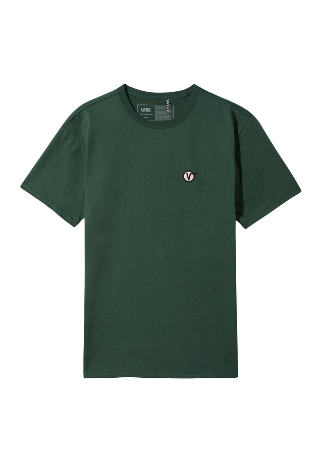 OFF THE WALL CLASSIC CIRCLE - T-shirt print - pine needle