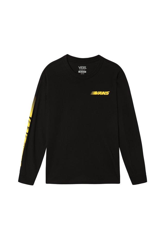 RACERS EDGE - Camiseta estampada - black