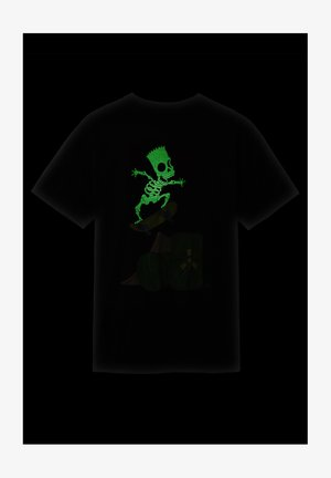 THE SIMPSONS GLOW BART - T-shirt z nadrukiem - (the simpsons) glow bart