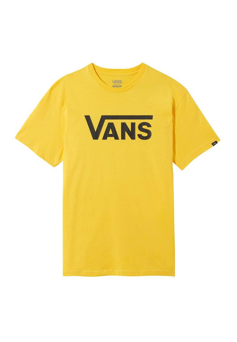 Vans - Print T-shirt - lemon chrome