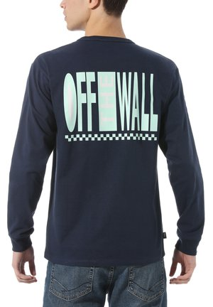 MN OFF THE WALL CLASSIC GRAPHIC LS - T-shirt basic - dress blues