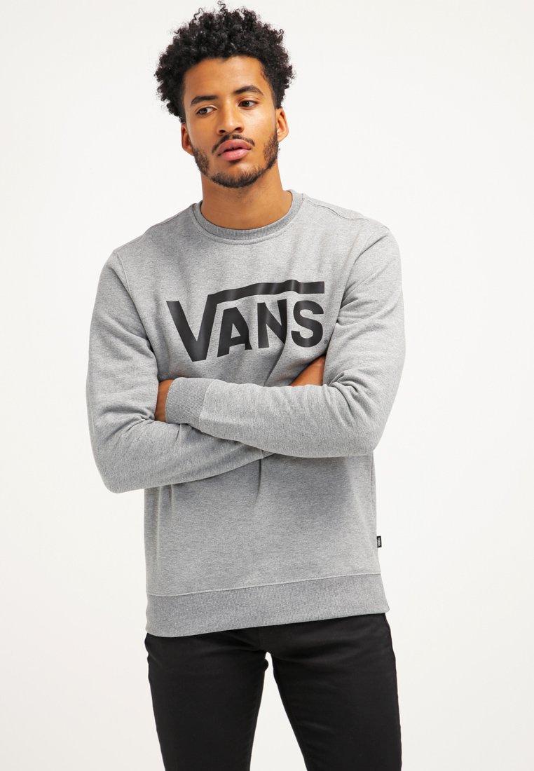 Vans - CLASSIC CREW - Sweatshirt - concrete heather/black
