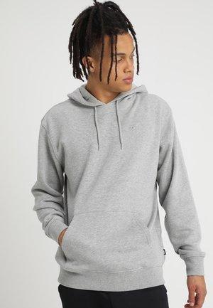 BASIC - Bluza z kapturem - mottled grey