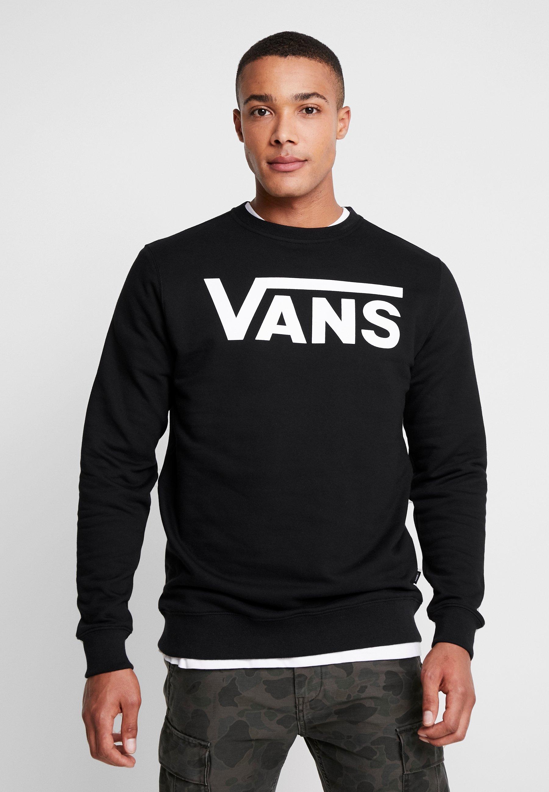 Classic Crew IiSweatshirt Black Vans white tdCsxrhQ