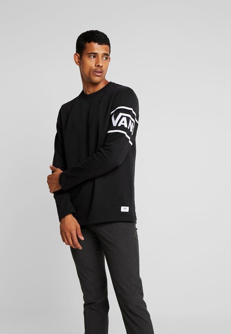 Vans - WHITAKER - Sweatshirt - black