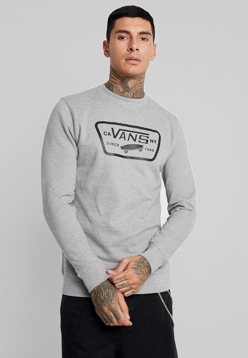 Vans - FULL PATCH CREW - Sweatshirt - cement heather