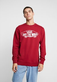 Vans - CREW - Sweatshirts - biking red - 0