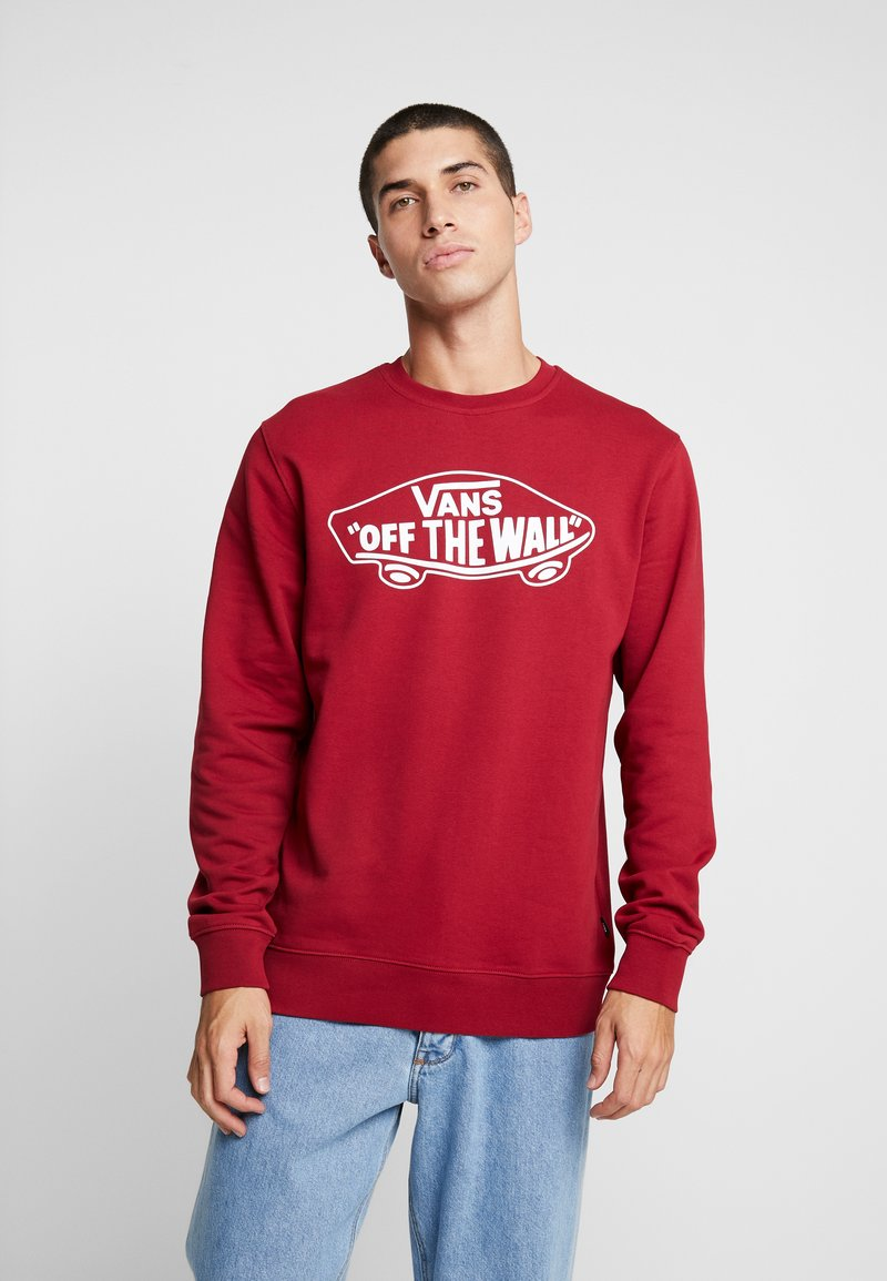 Vans - CREW - Sweatshirts - biking red