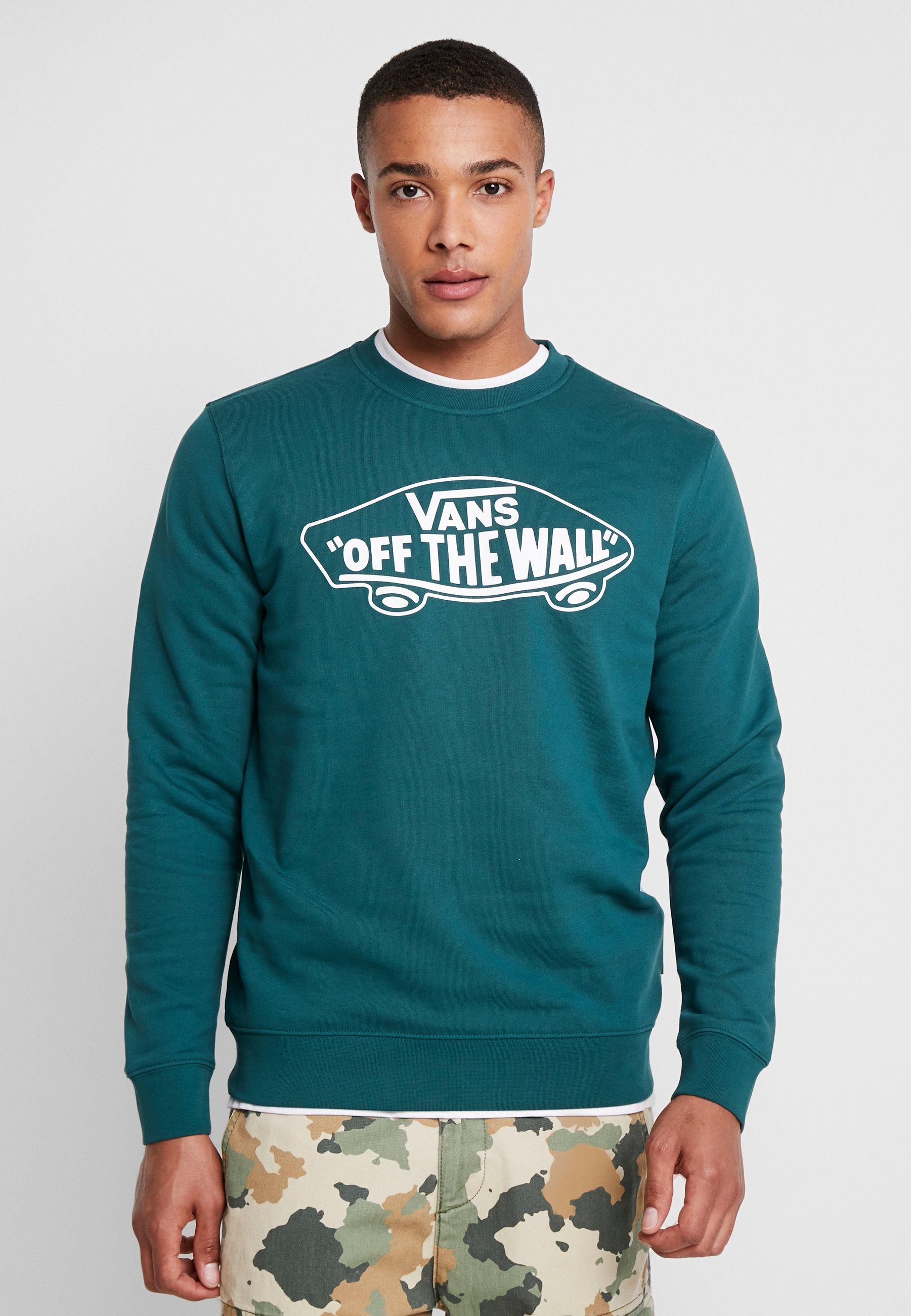 Green CrewSweatshirt Vans Vans CrewSweatshirt Dark Green Dark CrewSweatshirt Vans SVqUGzpLM