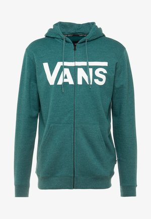 CLASSIC ZIP HOODIE - Sweatjacke - trekking green heather