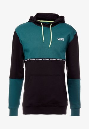 VANS REFLECTIVE CREW - Sweat à capuche - black/green