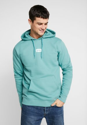 SCRATCHED - Hoodie - oil blue