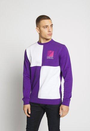 RETRO SPORT CREW - Sweatshirts - heliotrope