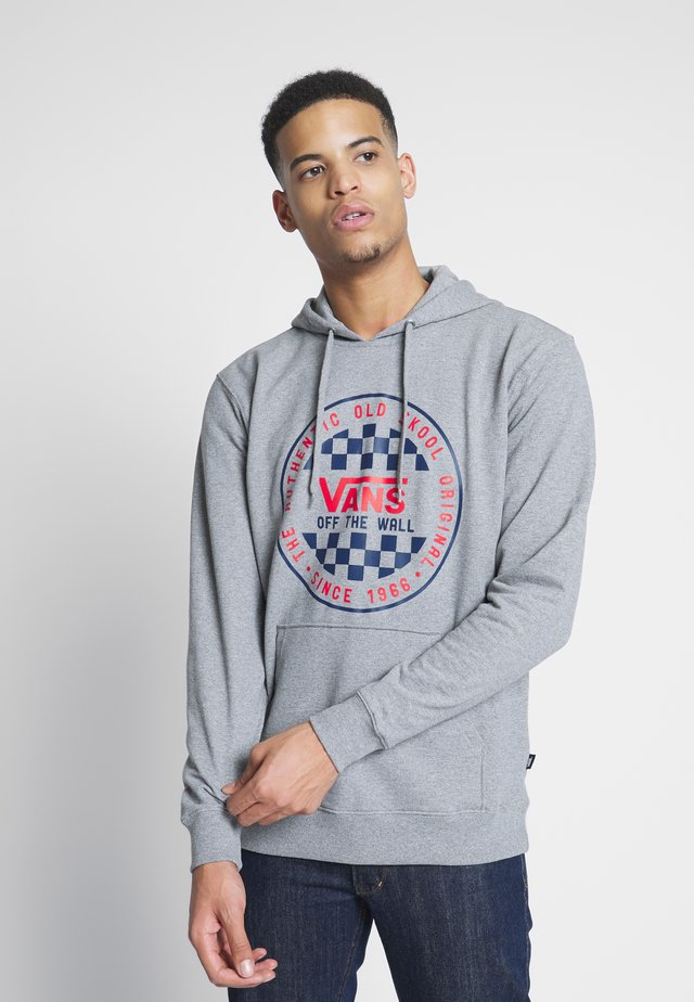 CHECKER - Hoodie - cement heather