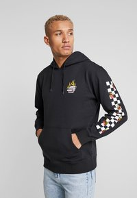 Vans - BURNING ROSE  - Hoodie - black - 0