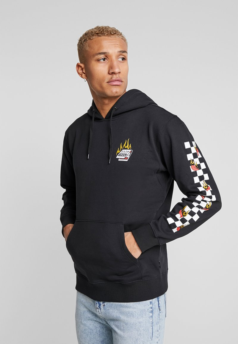 Vans - BURNING ROSE  - Hoodie - black