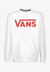 Vans - Sweatshirt - white/racing red - 0