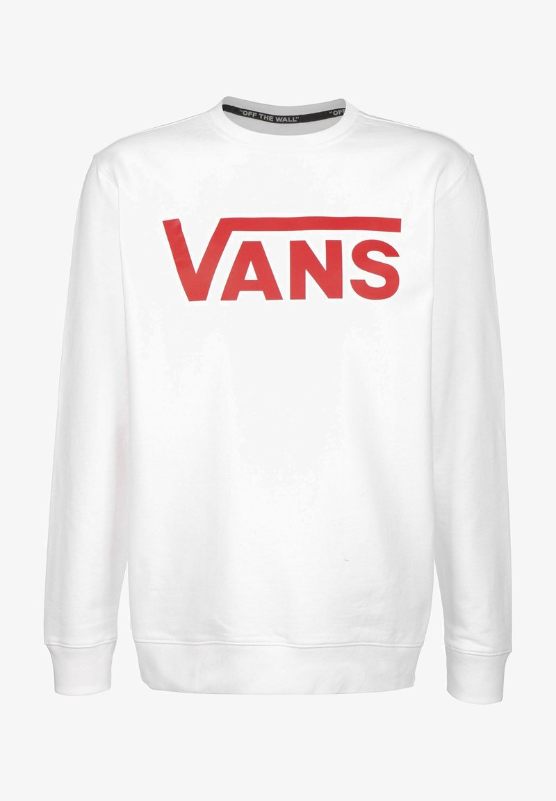 Vans - Sweatshirt - white/racing red
