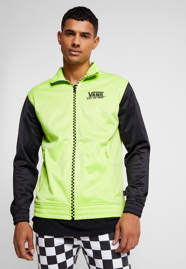 WINNER'S CIRCLE TRACK JACKET - Trainingsvest - sharp green/black