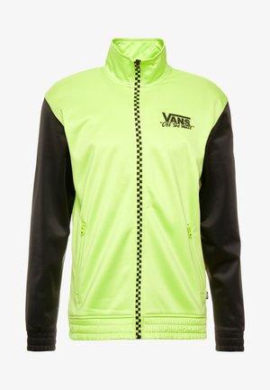 WINNER'S CIRCLE TRACK JACKET - Training jacket - sharp green/black