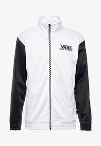 Vans - WINNER'S CIRCLE TRACK JACKET - Trainingsjacke - black/white - 4
