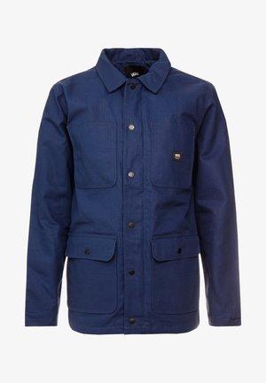 DRILL CHORE COAT LINED - Lett jakke - dress blues