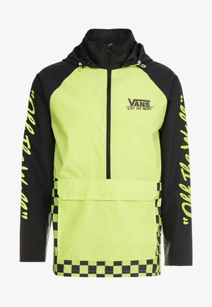 OFF THE WALL - Windbreaker - sharp green/black