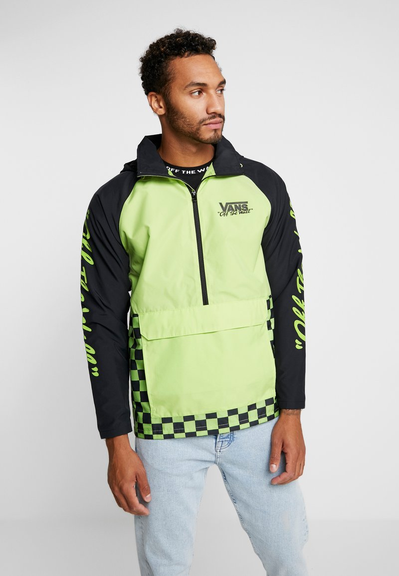 Vans - OFF THE WALL - Windbreaker - sharp green/black