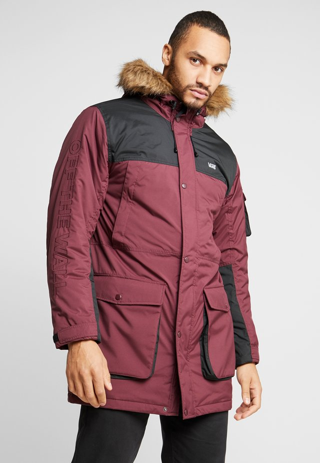 SHOLES - Parka - port royale-black