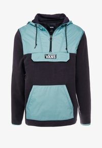 Vans - WINDWARD ANORAK - Kevyt takki - black/oil blue - 3