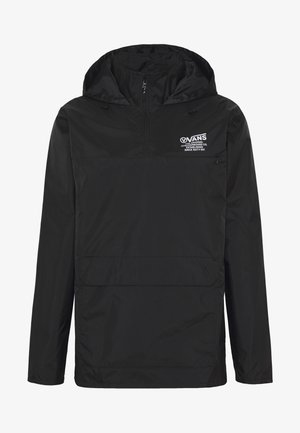 DISTORT TYPE ANORAK - Giacca a vento - black