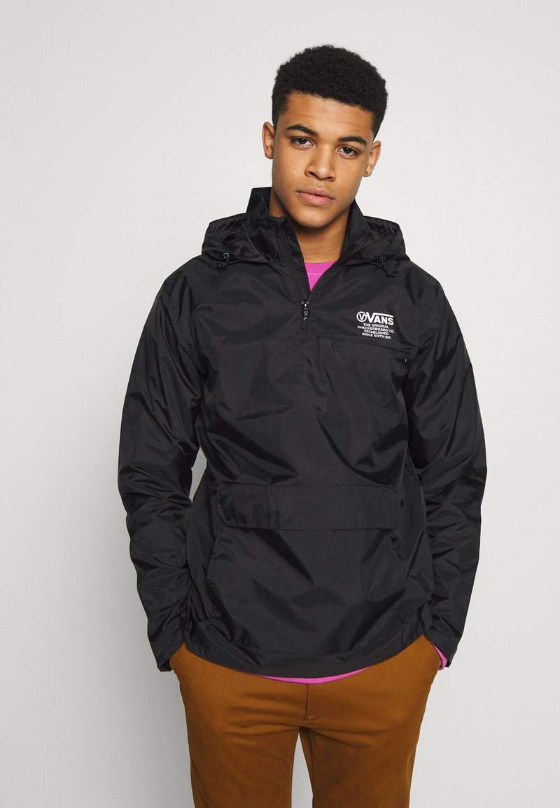 Vans - DISTORT TYPE ANORAK - Giacca a vento - black