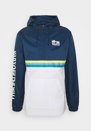 HIGH ELEVATION ANORAK - Windbreakers - dark blue white
