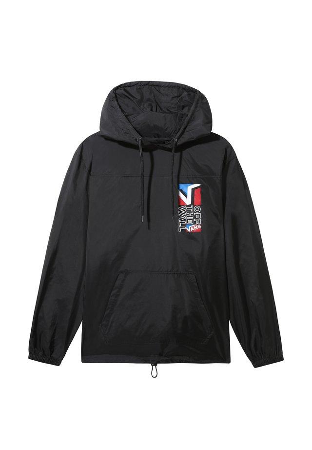 MN DIMENSION ANORAK - Summer jacket - black