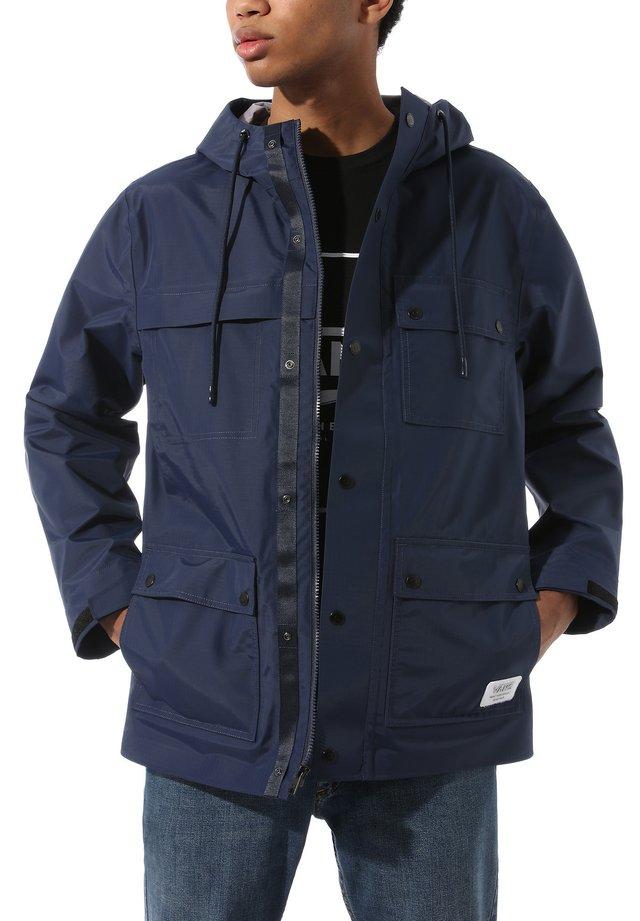 MN DRILL CHORE  3L - Waterproof jacket - dress blues