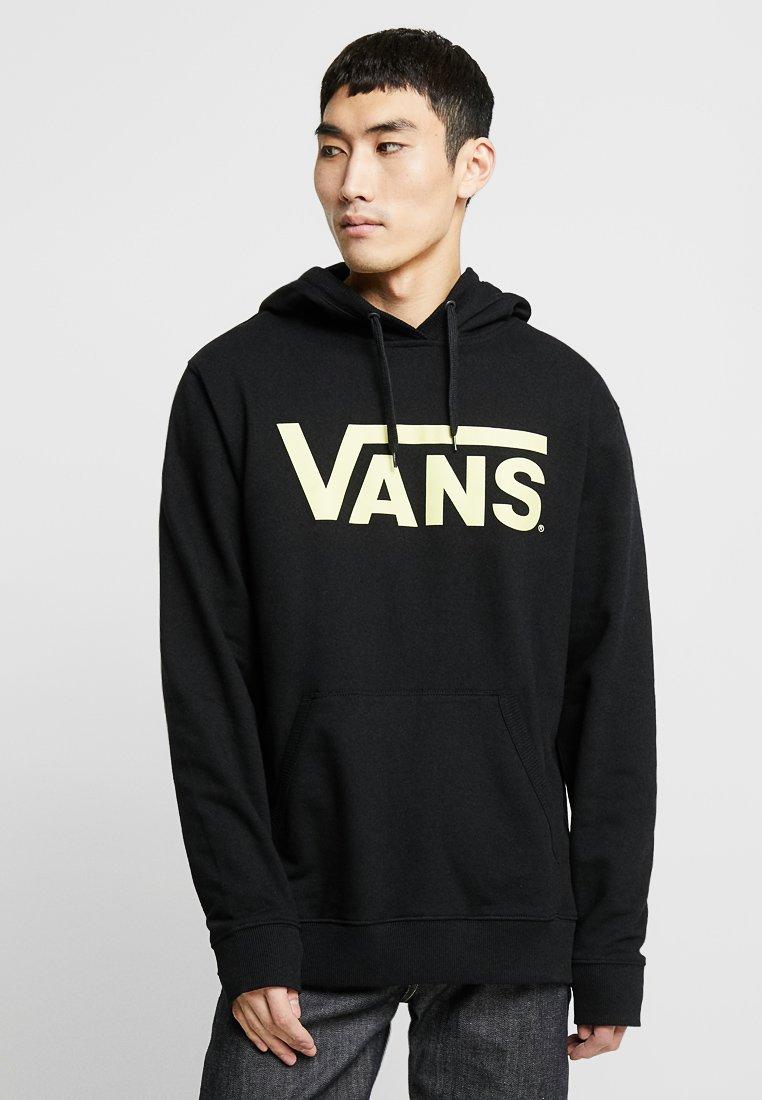Vans - Hoodie - black/sunny lime