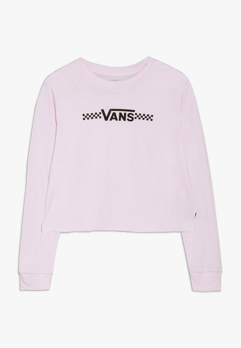 Vans - FUNNIER TIMES CROP - Long sleeved top - lilac snow