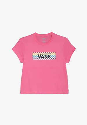 CHECK TANGLE - T-shirt con stampa - azalea pink