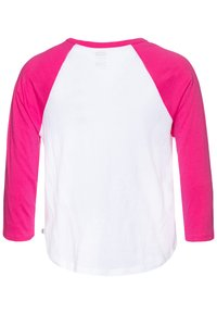 Vans - CHECK MY SHINE RAGLAN - Camiseta de manga larga - fuchsia purple/white - 1