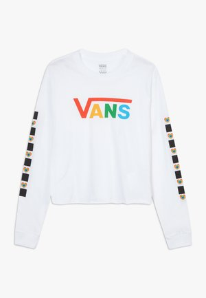 SCOTCH HOP - Long sleeved top - white